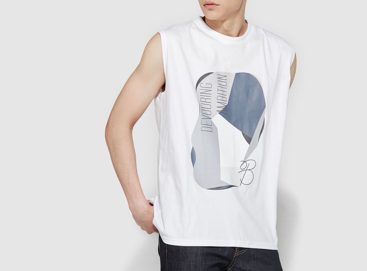 보놉 M painting blocking sleeveless