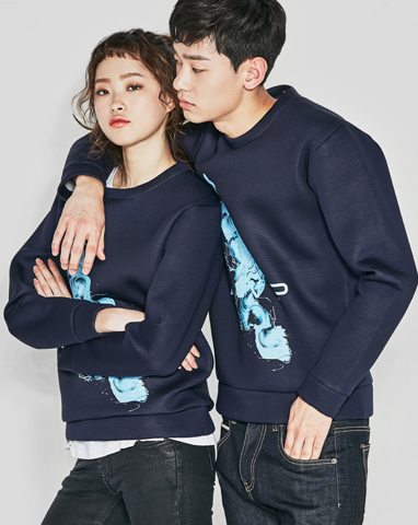 보놉 painting BNP neoprene sweatshirts