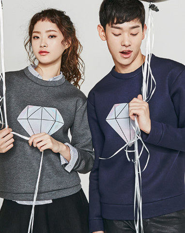 보놉 diamond neoprene sweatshirts